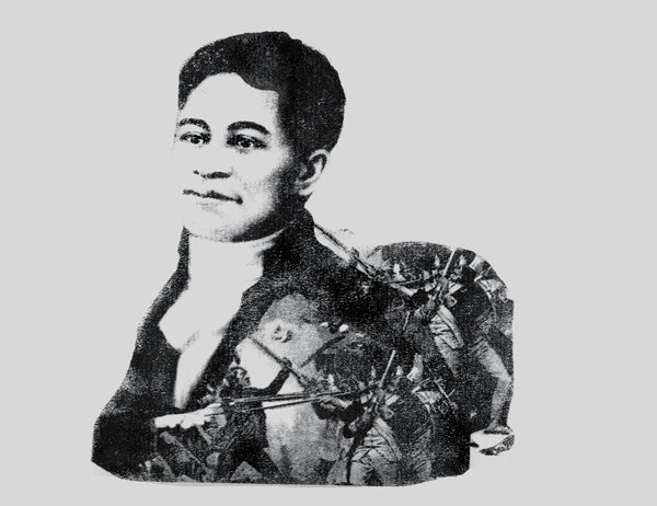 Photo illustration by Jon Key of Crispus Attucks, victim of the Boston Massacre.