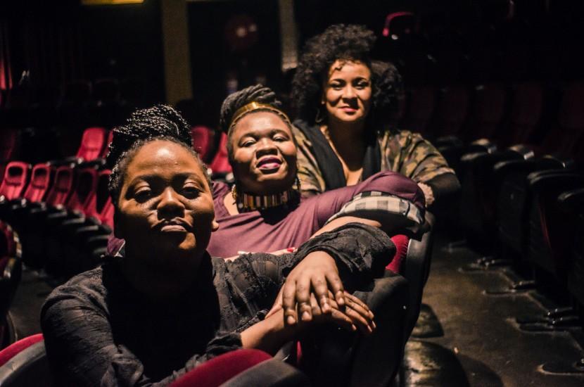 The cast of  Venus Versus Modernity , a musical about the life of Saartjie Baartman.
