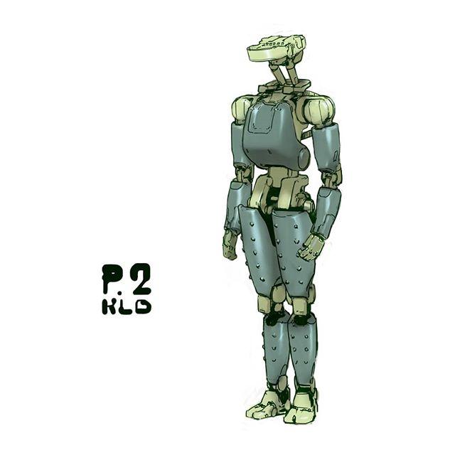 Robot sketch  #scifi #scifiart #mech #marchofrobots #hardsurface #digitalart #design #artistsoninstagram #conceptart