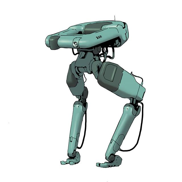 Robot no.4  #scifi #scifiart #marchofrobots #hardsurface #digitalart #design #artistsoninstagram #conceptart