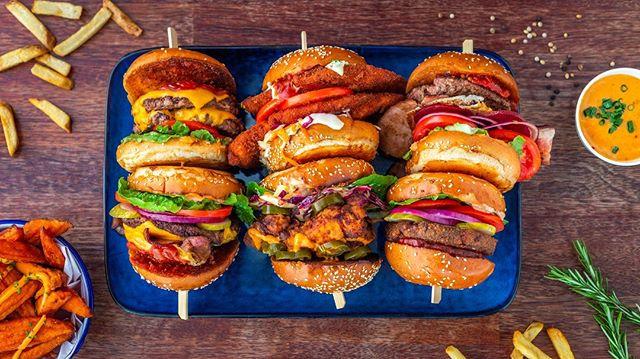 Burgers anyone? 🍔