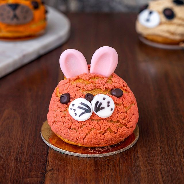 Lions and tigers and bears, oh my! @douxamourpatisserie in QVB and Rosebery has some of the cutest creations. Almost too sweet to eat 🐰