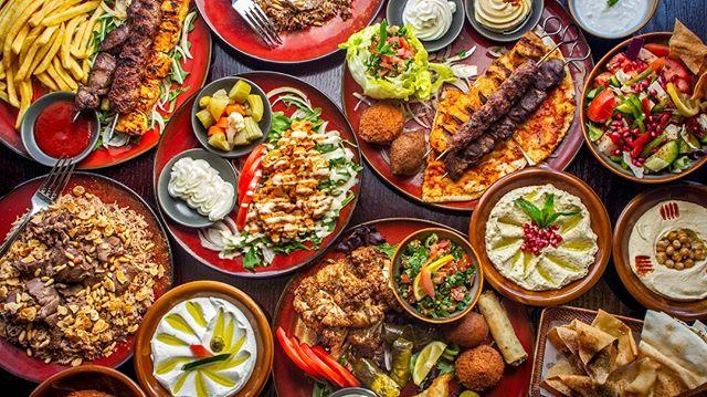Lebanese feast 😍🍢@mezzatrainsydney