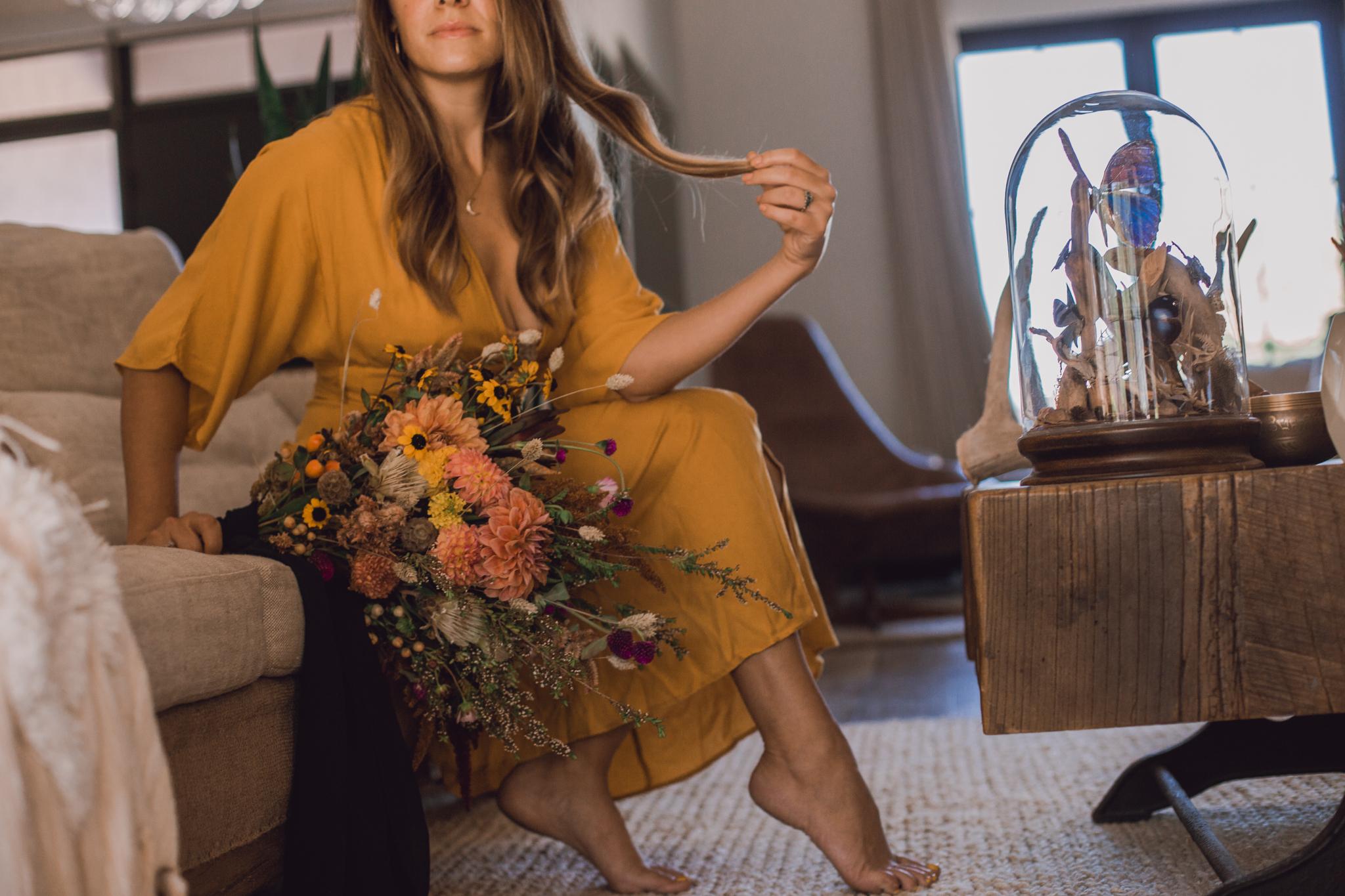 forever-21-yellow-dress-dark-moody-photography