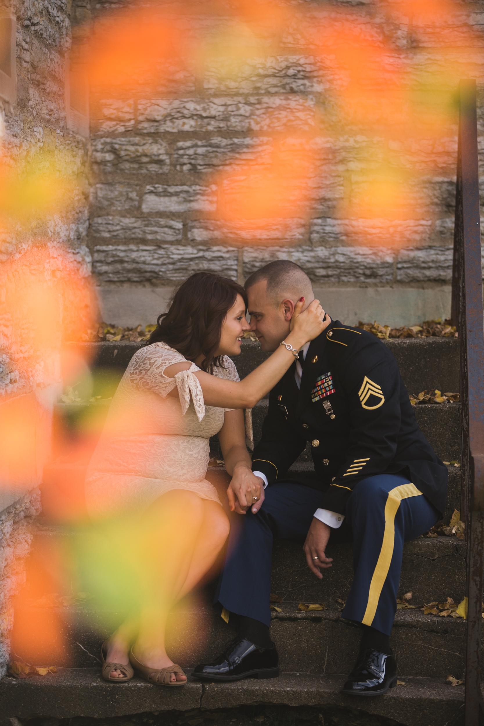 Fort Snelling Elopement St. Paul, MN, Fort Snelling Elopement, Military Elopement, Intimate Military Wedding, intimate elopement wedding-www.rachelsmak.com13.jpg