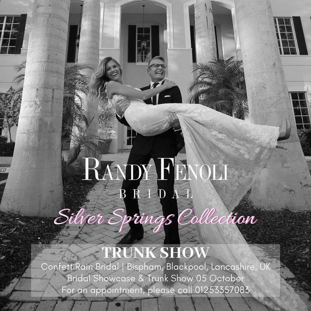 Randy Fenoli Trunkshow at Confetti Rain Bridal