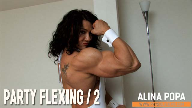 Alina Popa - Party Flexing 2 - January 2019