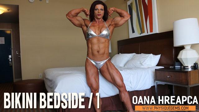 Oana Hreapca - Bikini Bedside 1 - January 2019