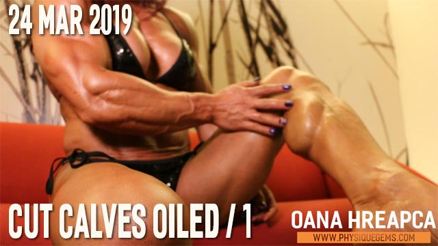 Oana H - Cut Calves Oiled 1 - 24 March 2019