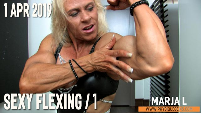 Marja L - Sexy Flexing 1 - 1 April 2019