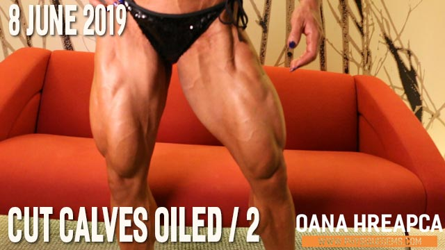 Oana H - Cut Calves Oiled 2 - 8 June 2019