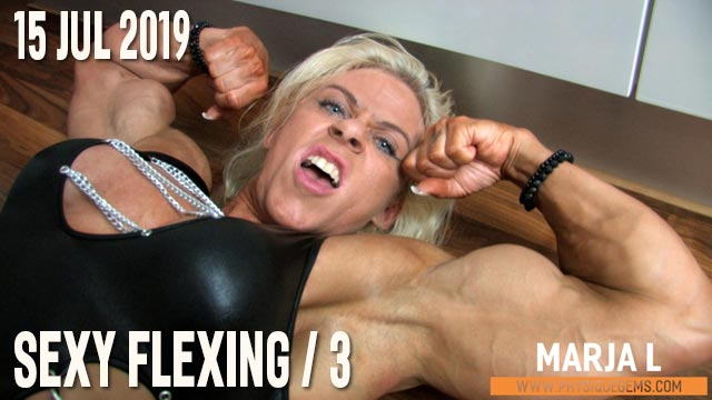Marja L - Sexy Flexing 3 - 15 July 2019