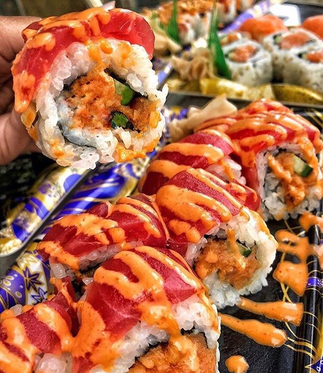 . You can get a delicious Japanese Sushi from SUSHI BOY(@sushiboy_la ) at Anaheim Japan Fair‼️🍣 .      . Date: May 25th, 2019 11:00am-8:00pm . Address: Center Street Promenade . #anaheimjapanfair #la #california #anaheim#anaheim #japanesefestival #event #japanesefood #lafoodie