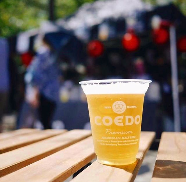 . This sunny day deserves the COEDO beers 😍🍻 COEDO is coming to Anaheim Japan Fair! Cheers🍺 .      . Date: May 25th, 2019 11:00am-8:00pm . Address: Center Street Promenade . #anaheimjapanfair #la #california #anaheim #japanesefestival #event #japanesefood #japanesebeer #beer #lafoodie