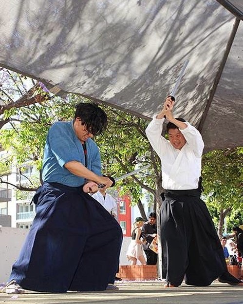 . Are you interested in Samurai?? Don't miss the wonderful performance at main stage‼️🇯🇵 .      . Date: May 25th, 2019 11:00am-8:00pm . Address: Center Street Promenade . #anaheimjapanfair #la #california #anaheim #japanesefestival #event #japan #samurai #performance #likeforlikes