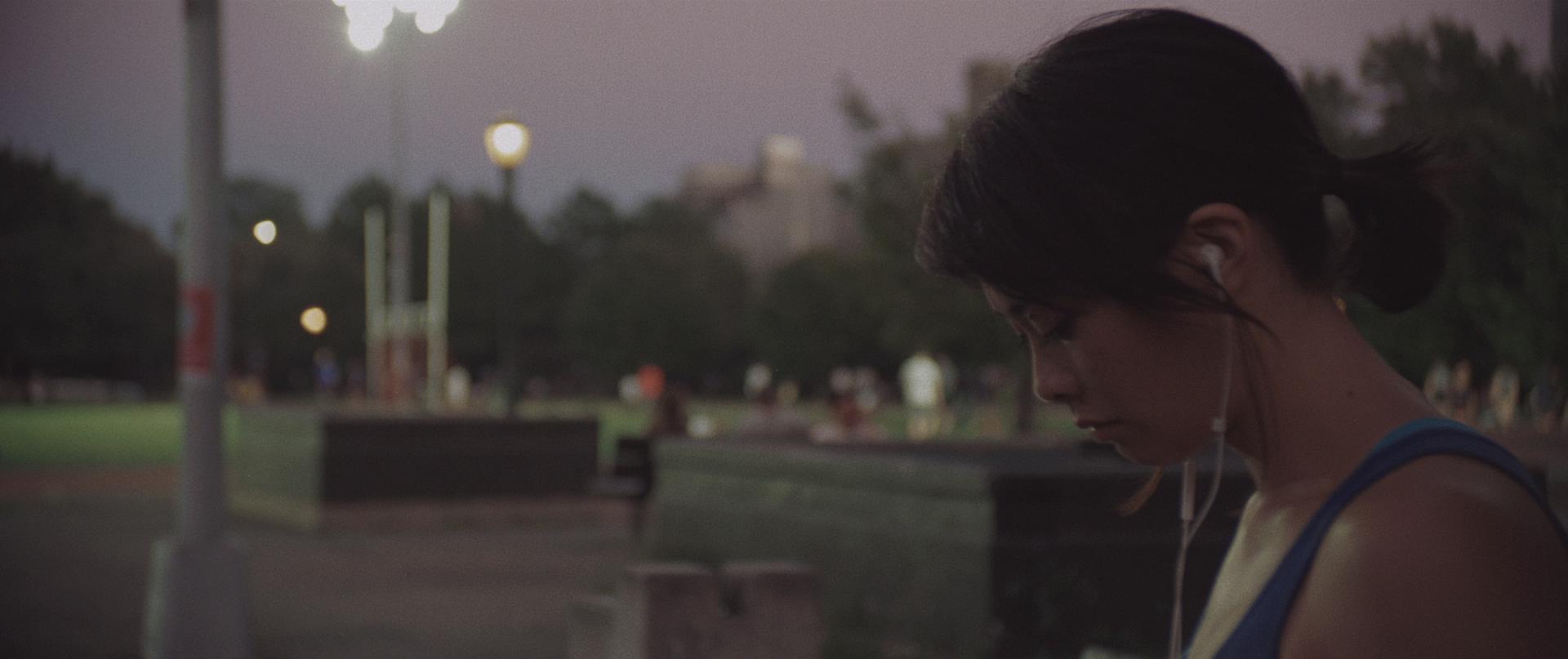 Tiffany Villarin in Shadow; Cinematographer - Ramsey Fendall; Director - Andrew Pang