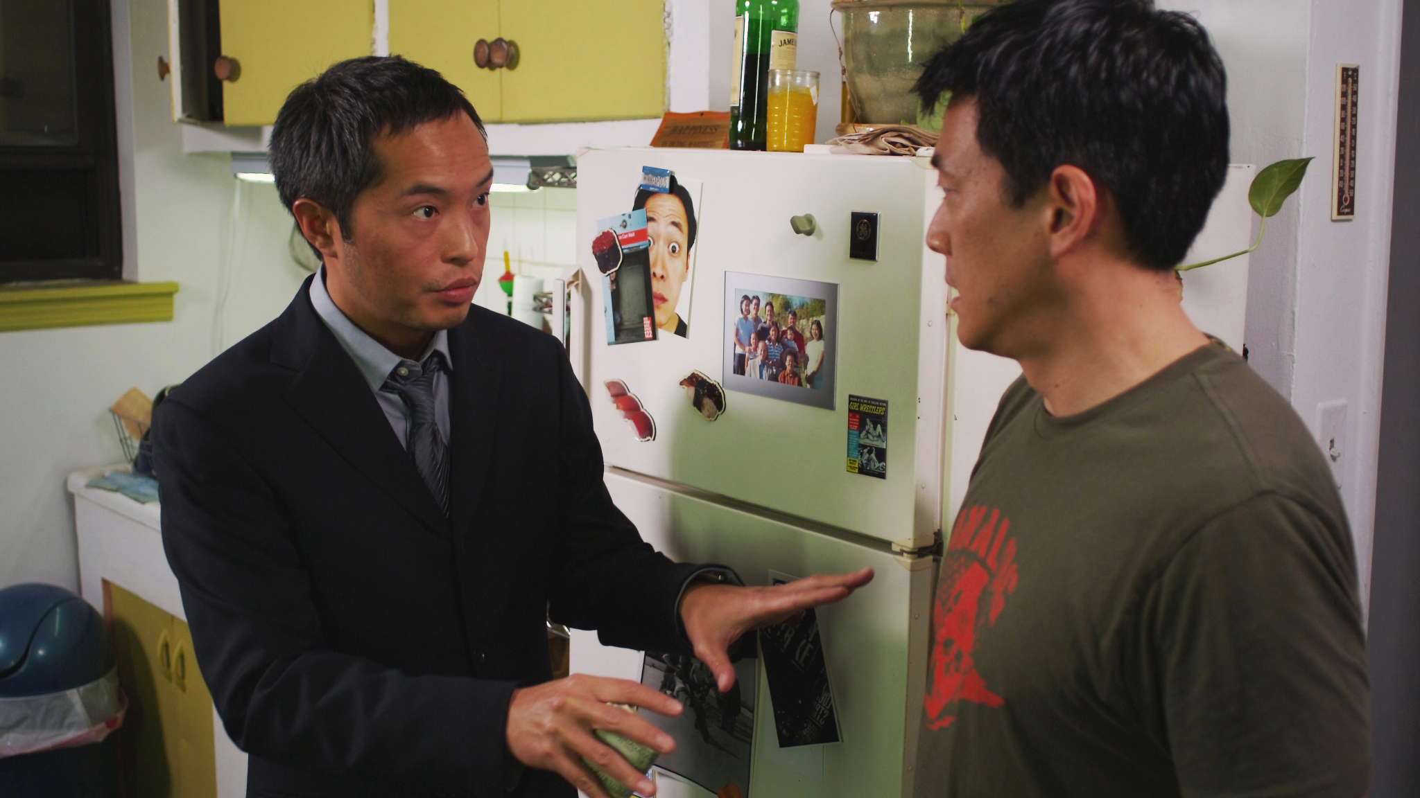 Ken Leung and Paul Juhn in Works of Art; Written by Paul Juhn; Cinematographer - Ramsey Fendall; Director - Andrew Pang