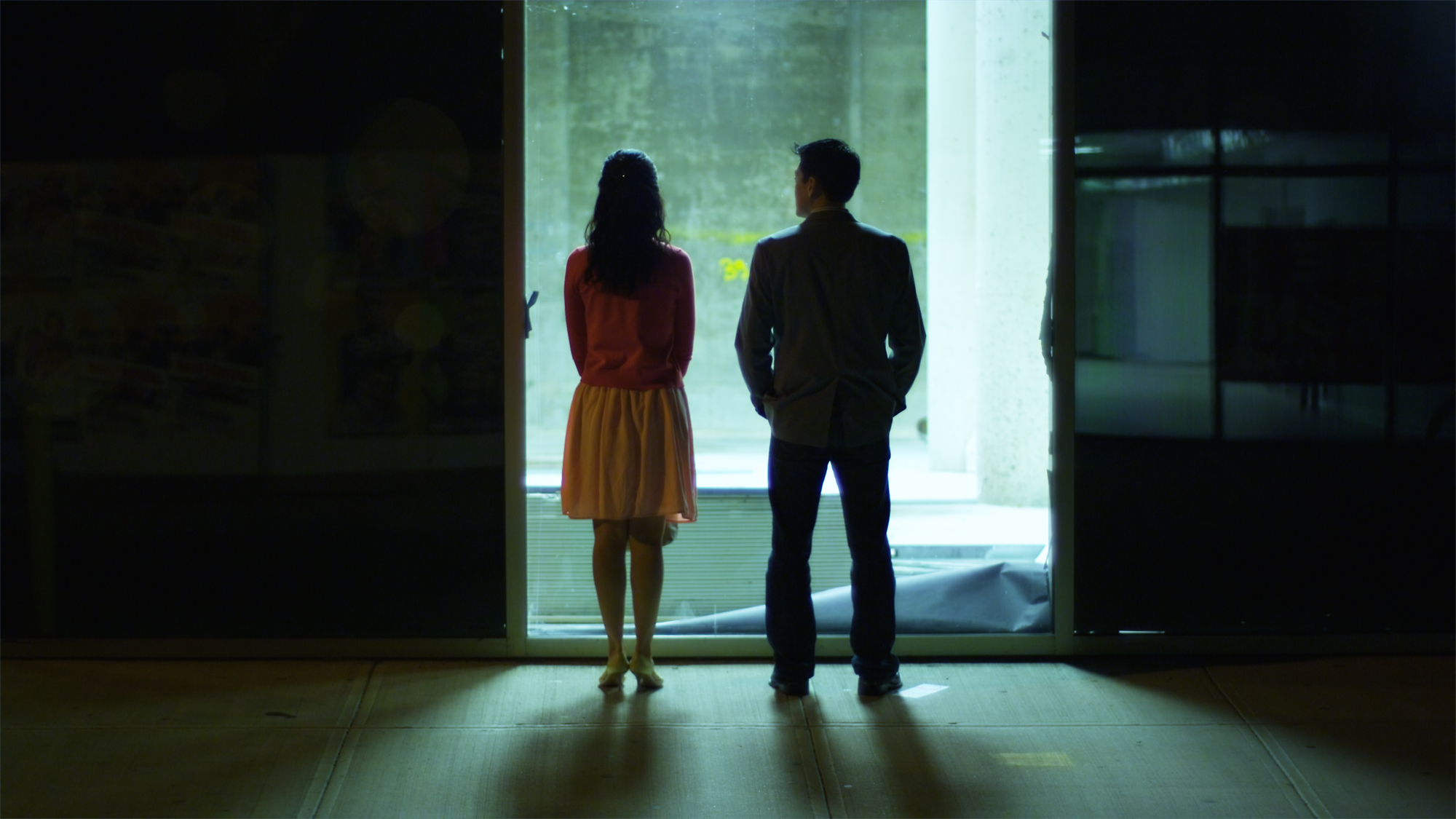 Sara Kim and Paul Juhn in Works of Art; Written by Paul Juhn; Cinematographer - Ramsey Fendall; Director - Andrew Pang