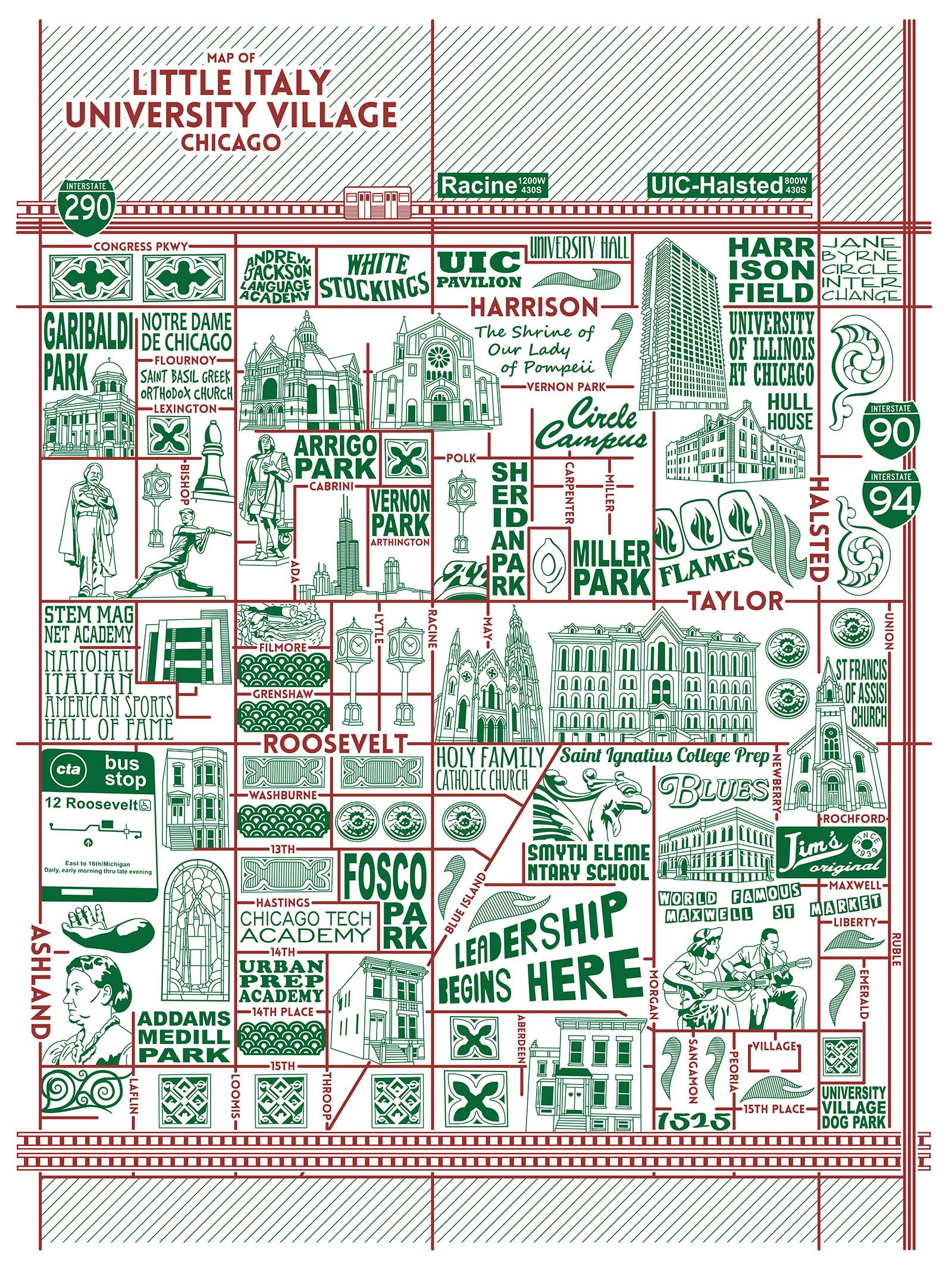 Little Italy Map -  Purchase a map here