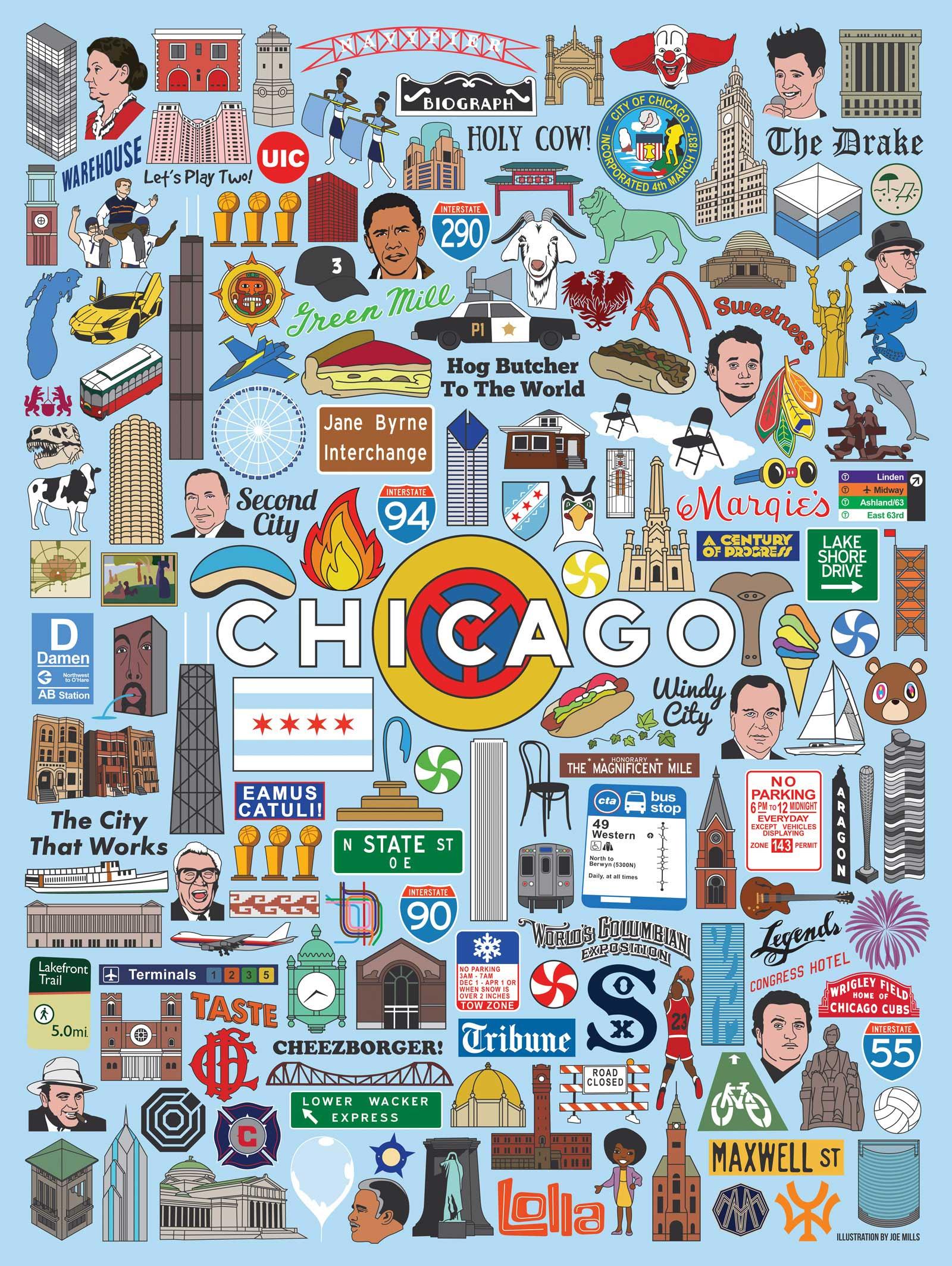 Chicago Icons