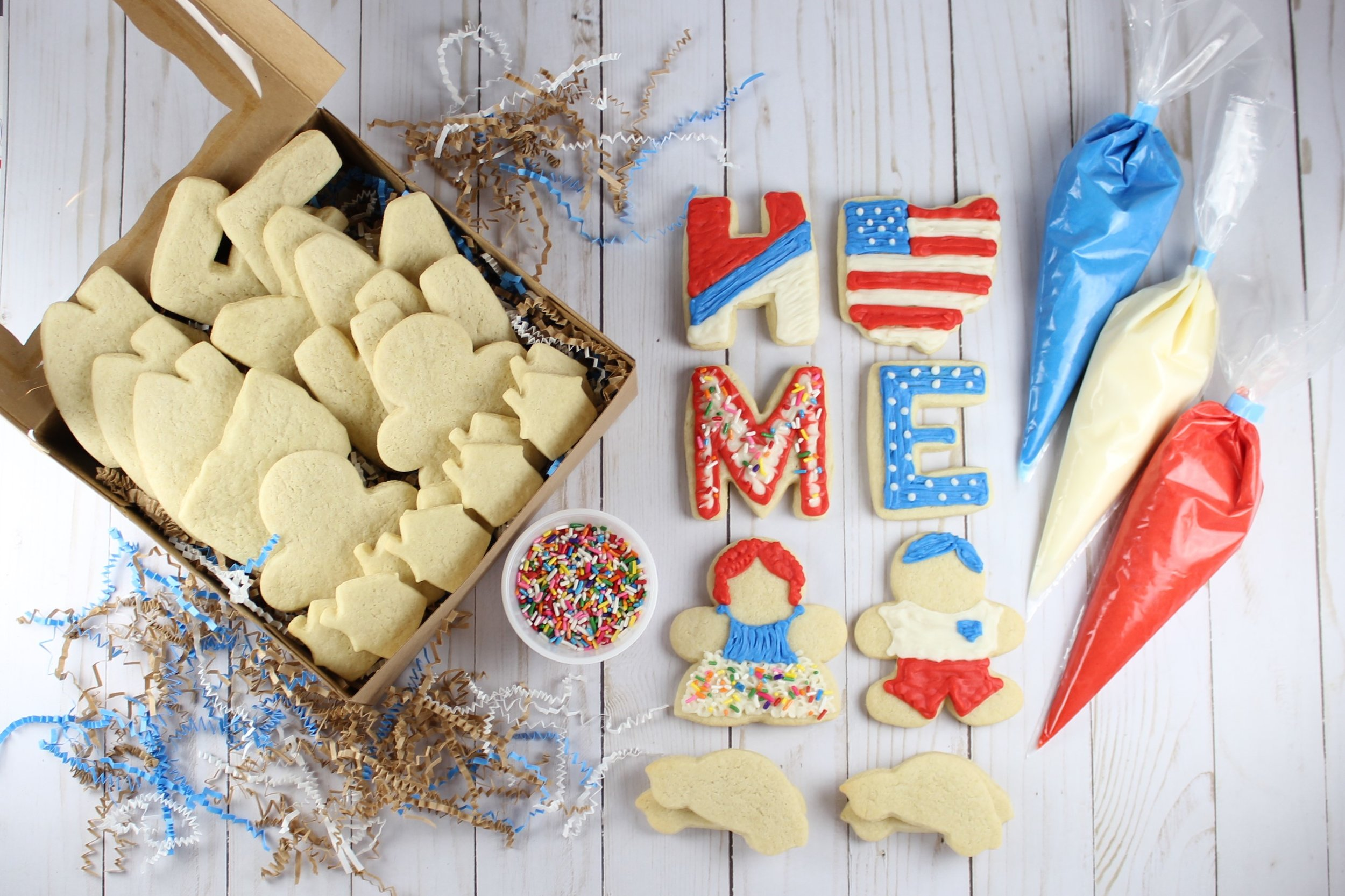 Welcome Home Cookie Kits - Sweet Memories Start with Bella Cooke Kits…