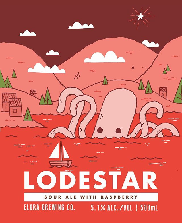 🐙 LODESTAR SOUR ALE with RASPBERRY 🐙 ABV: 5.1% Release Date: Friday, March 22nd | 11am Level: Out of this world 💯 . . . #elorabrewingcompany #elora #visitelorafergus #discoverON #drinklocal #drinkcraft #craftbeer #beernerd #lovecraftbeer #explorecanada #localtourist #519local #lodestarsourale #raspberry #discoverontario #escapetoronto #escapeTO #blogto #beer #beerme #newbeerrelease #beeroclock #brewlife #brewery #beerstagram
