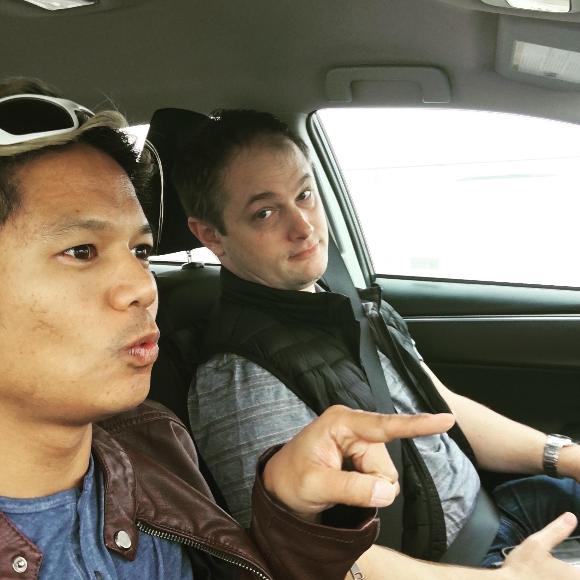 Nathan Novero and Ryan Clark