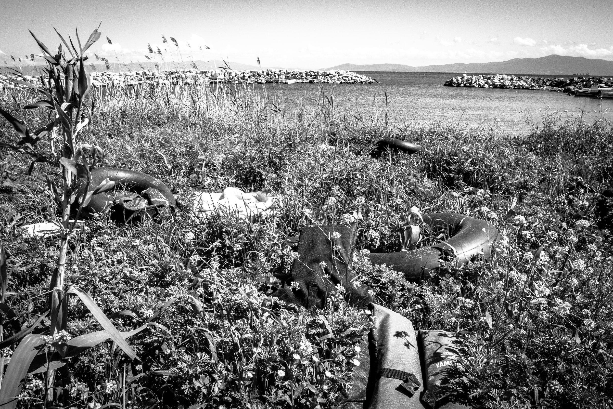 Landing Site Debris