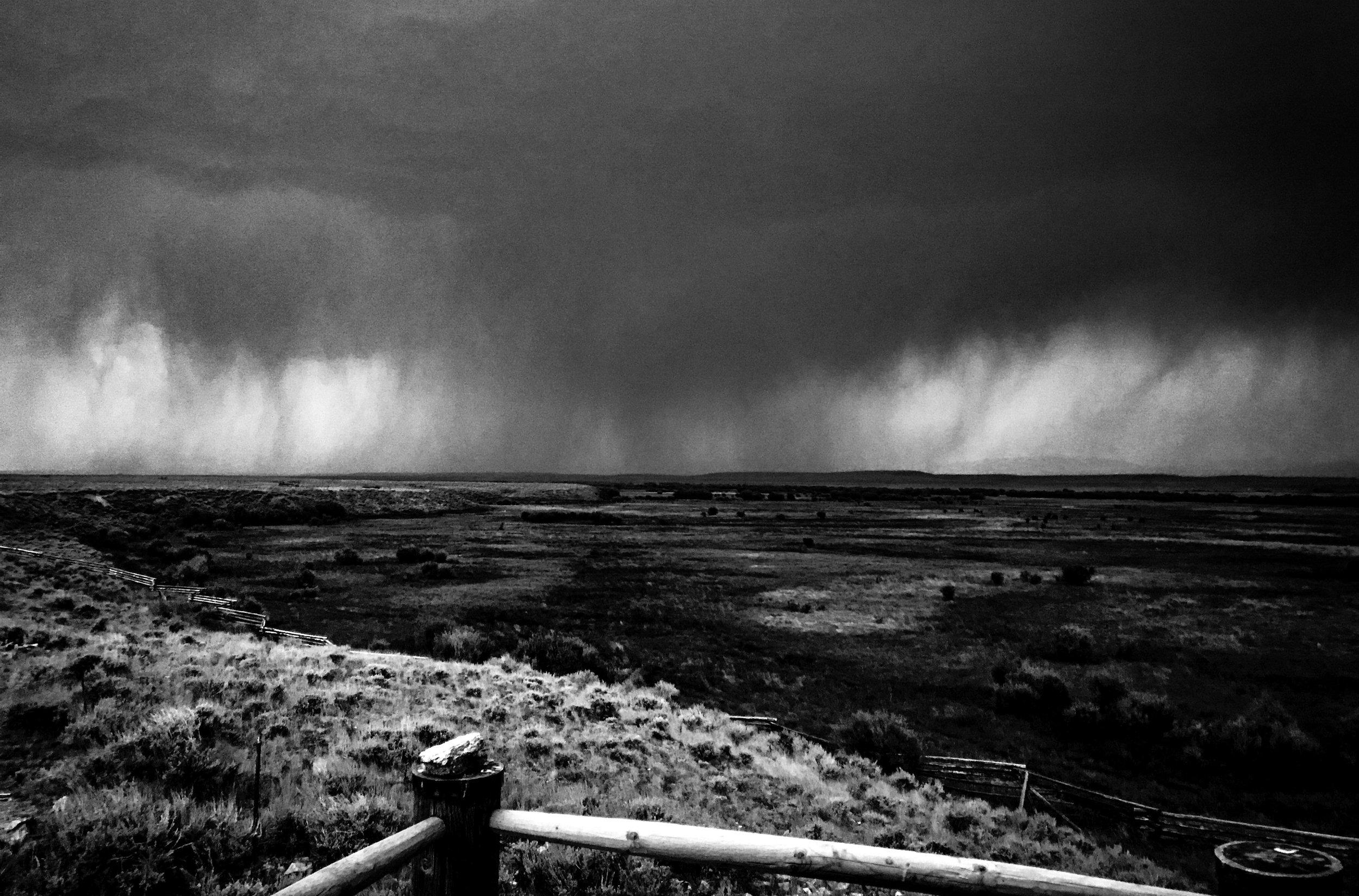 Coming Storm, Big Hole
