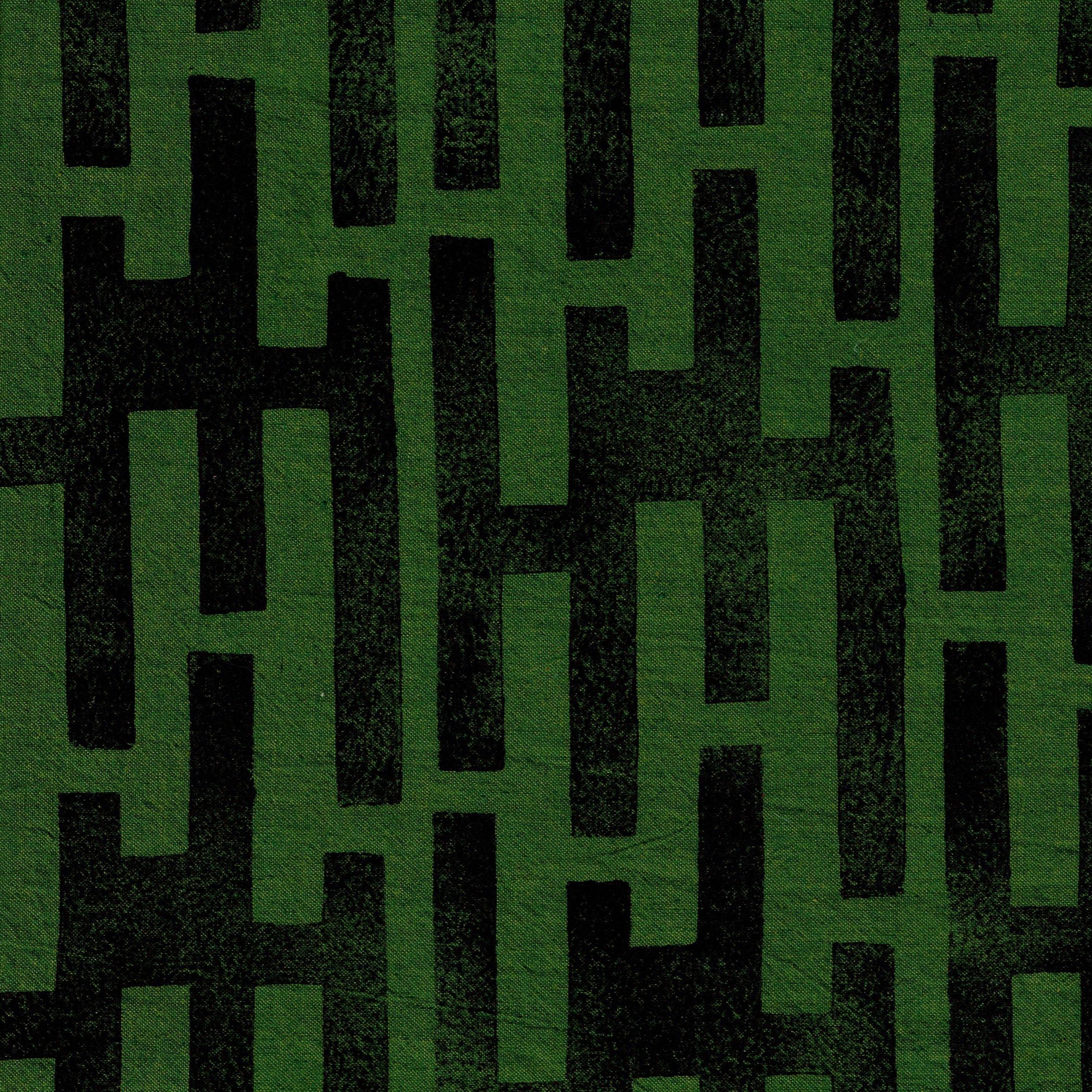 Levels - Speedball Speedy Carve cut block printed onto fabric