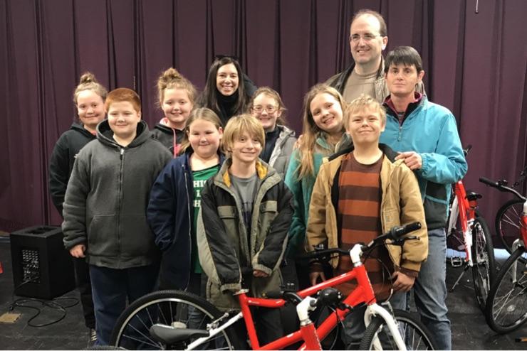 """""""CYCLE KIDS"""" IN OARK, AK   Program open since 2017"""