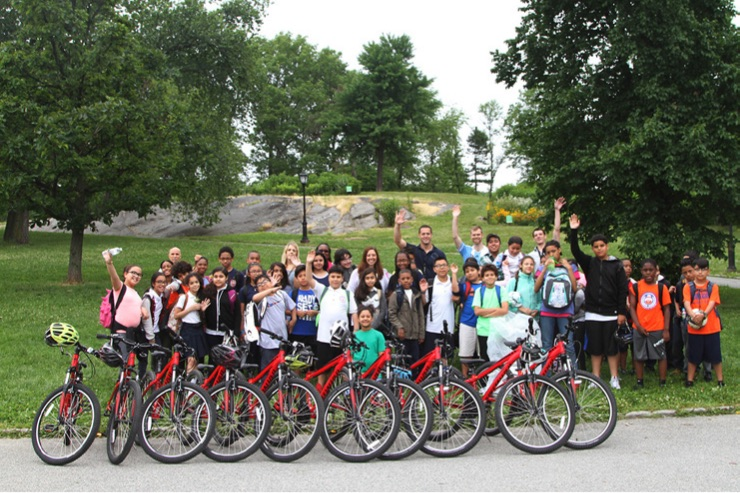 """""""CYCLE KIDS"""" IN HARLEM, NYC   Programs open since 2006"""