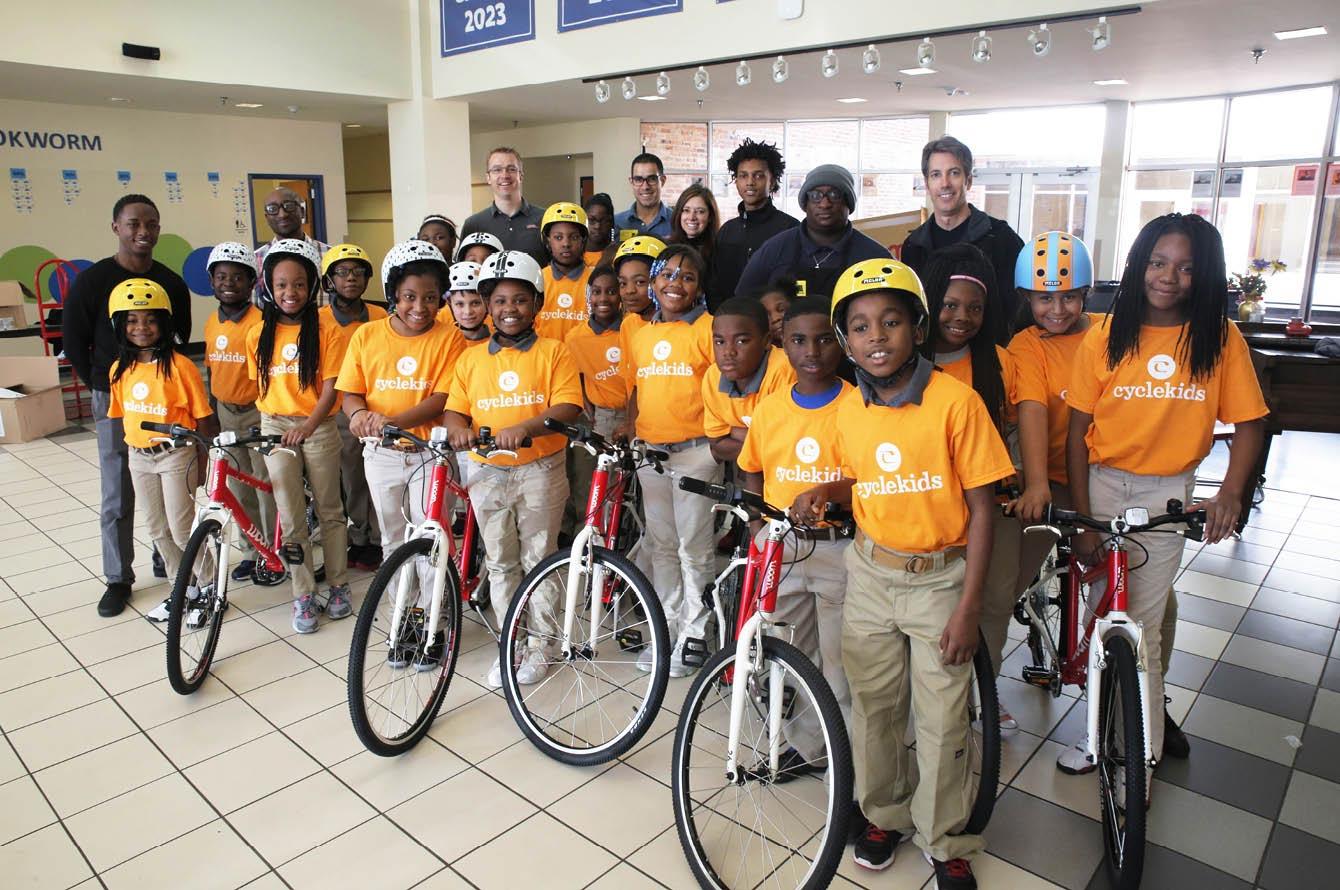 """""""CYCLE Kids"""" in Helena, Arkansas"""