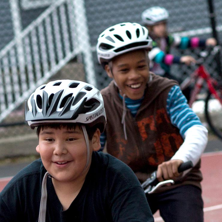 Bring CYCLE Kids to Your Community - Partner with us to bring the CYCLE Kids program to your local elementary school. Financial aid is available on a select basis.
