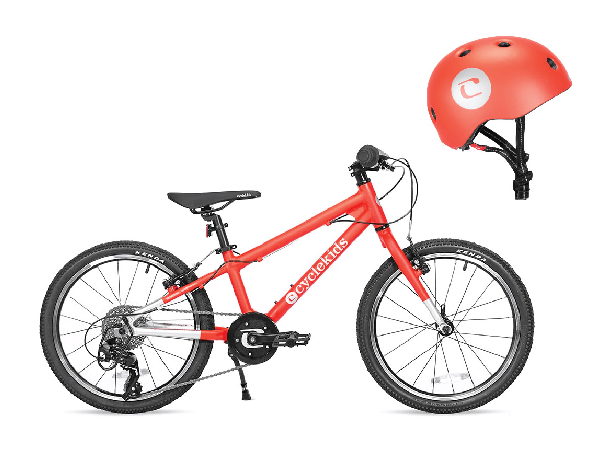 2019 - CYCLE Kids launches a line of children and adult bikes and helmets, supporting our schools.