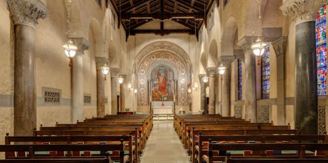 The Chapel at Saint Bartholomew , a National Historic Landmark.