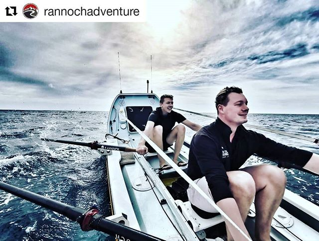 "#Repost @rannochadventure (@get_repost) ・・・ ""We love it when competitive rowers still row with a big smile on their face!  After pushing off the amazing Dawn Smith from @rowaurora this morning, Angus went out training with @ajdsimpson and @jamiegordon92 from @hyperion_atlantic_challenge in their R20. It's fair to say that these two man mountains pushed the boat hard, picked up great speeds and laughed non stop."""