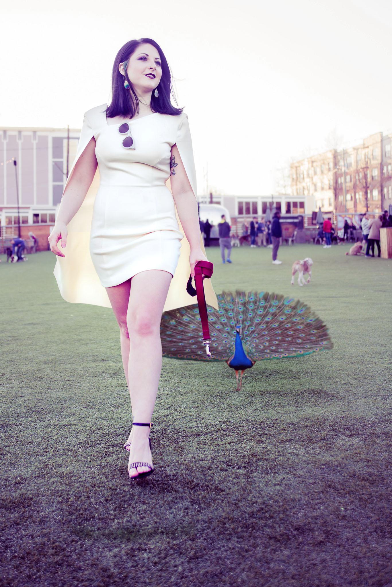 Talia - Walking with Peacock.jpg