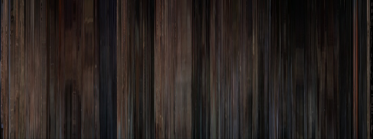 Every frame of  Rear Window  in one image. Looks like hard-wood flooring. And beautiful.   (via  moviebarcode )