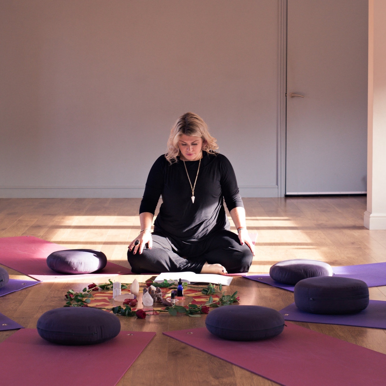 create - Explore ancient practices and rituals. Feel at home in your body and discover the joy in creativity expression.