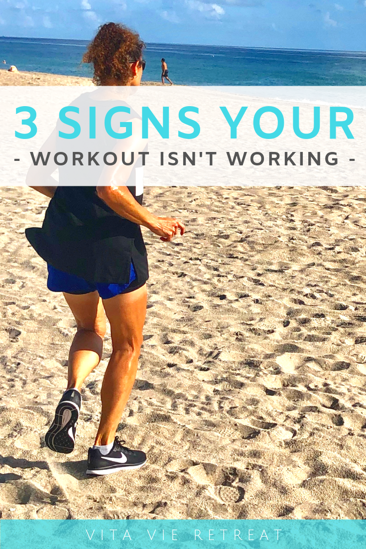 Running on the beach is a way to switch up your workout.
