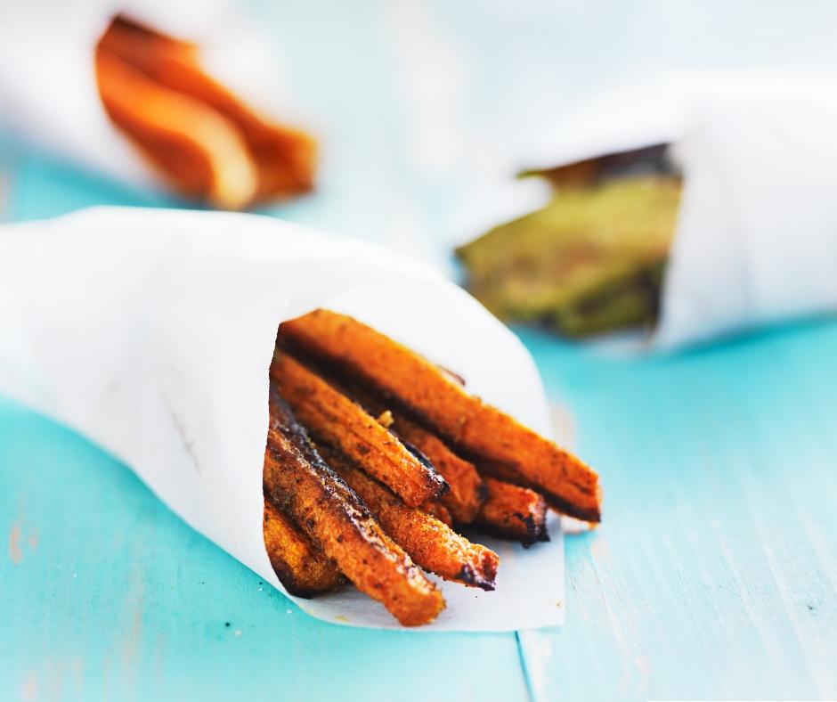 Rosemary carrot fries.