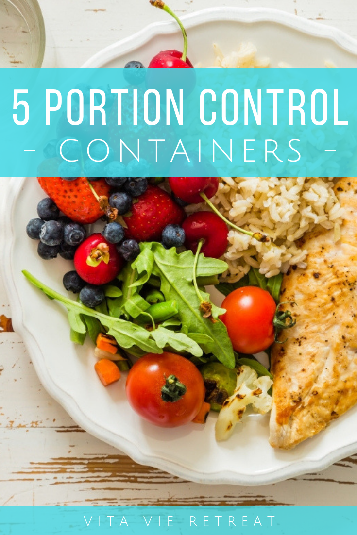 Portion control containers.