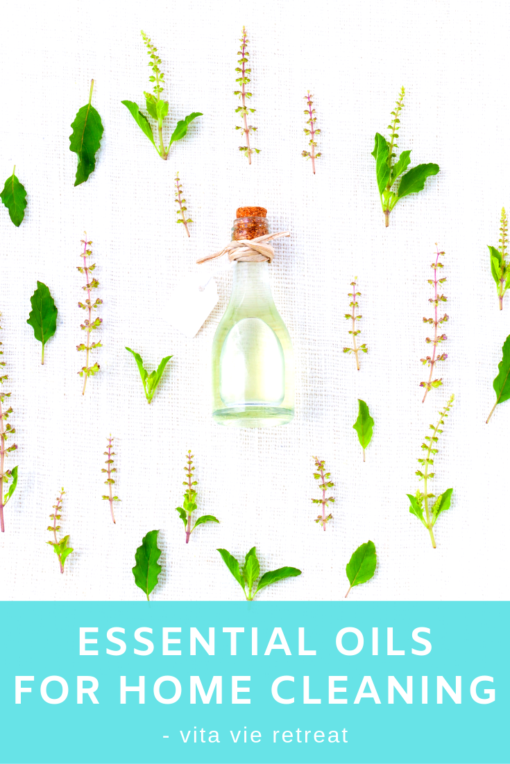 Essential oils from plant extracts and are safe to clean your home.