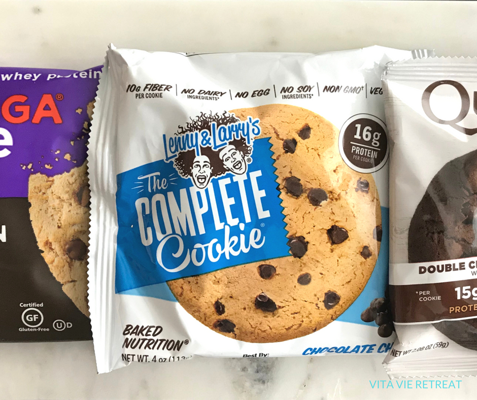 Protein cookie options.