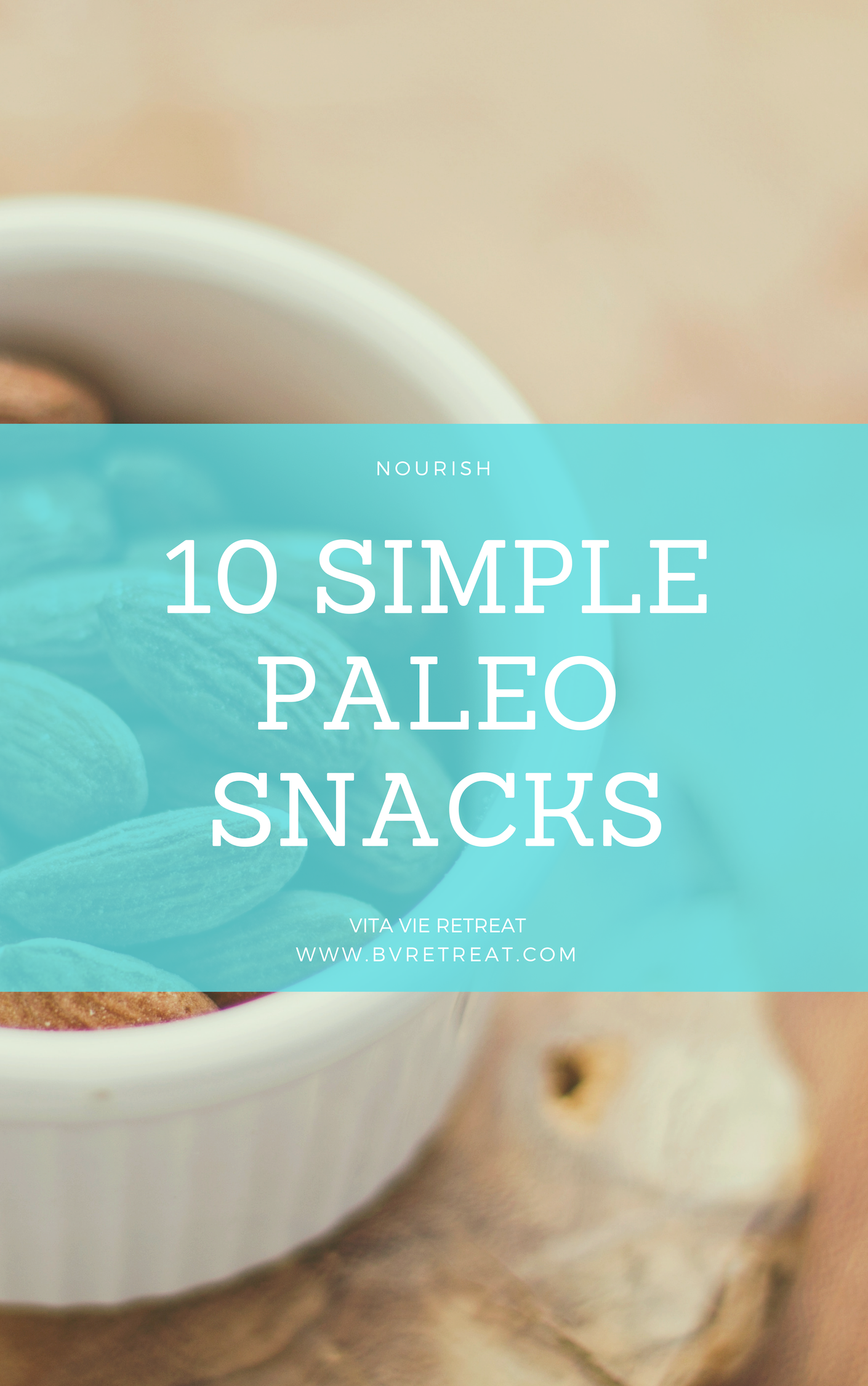 Almonds are a simple paleo snack.
