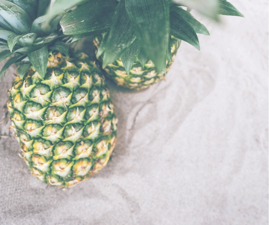 Pineapple is an example of healthy food in a new nutrition program.