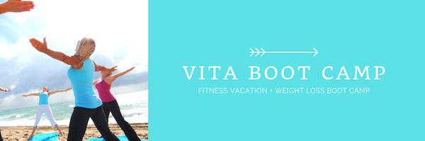 Weight loss boot camp & fitness vacation - vita vie retreat Ad