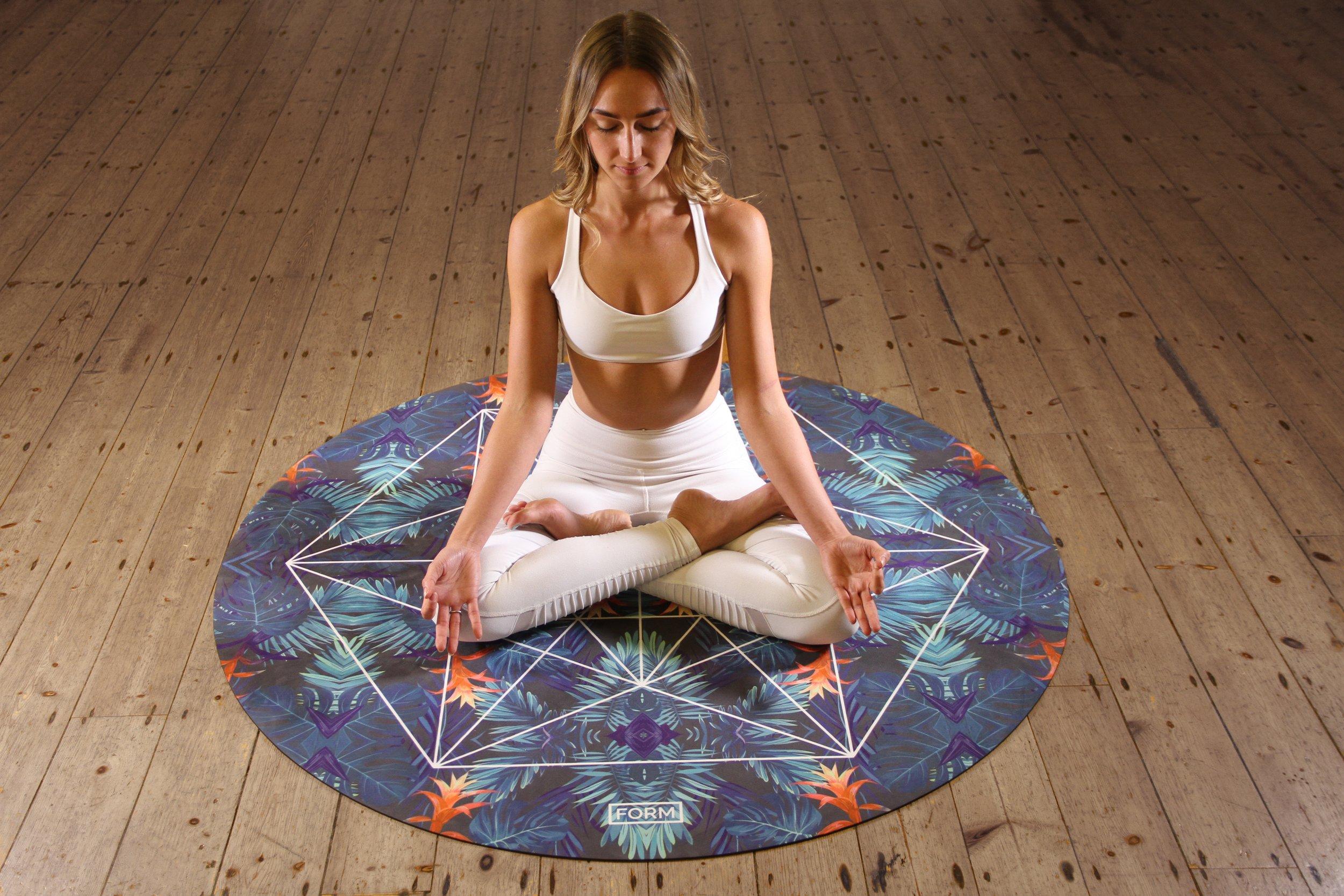 Practicing yoga can help sleep.