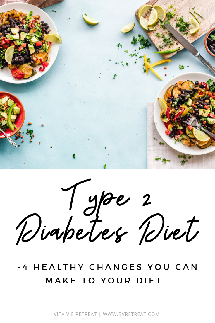 Healthy nutrition choices for type 2 diabetes